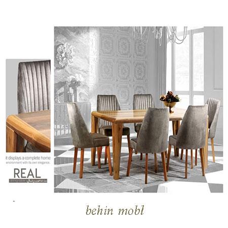 میز ناهارخوری مدل رئال