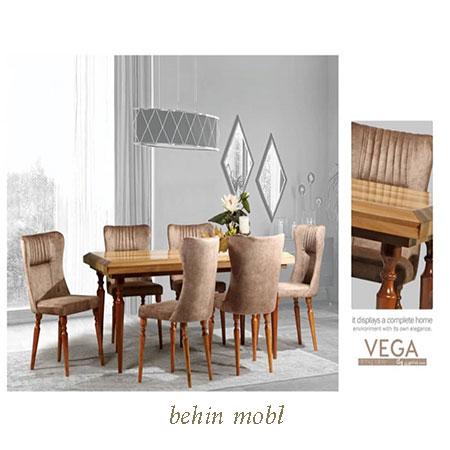 میز ناهارخوری مدل وگا