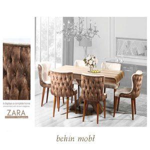 میز ناهارخوری مدل زارا