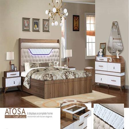 سرویس خواب دو نفره مدل آتوسا