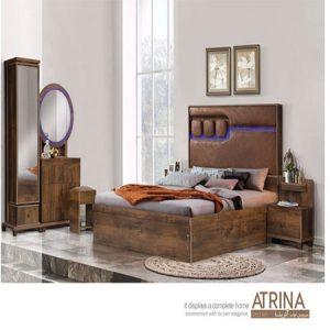 سرویس خواب دو نفره مدل آترینا