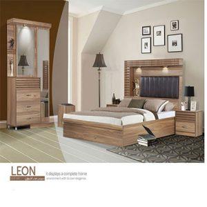 سرویس خواب دو نفره مدل لئون