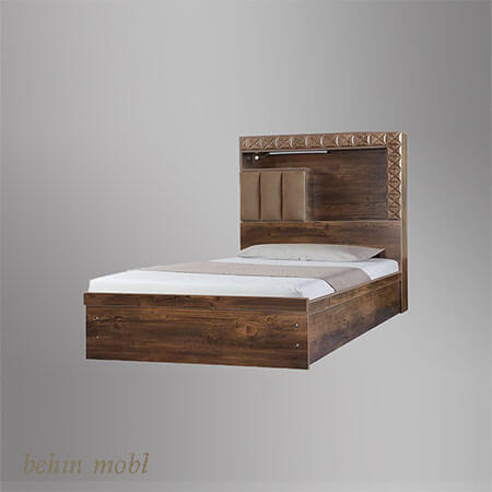 تخت خواب نوجوان مدل یاقوت