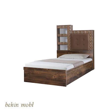تخت خواب نوجوان مدل اطلس
