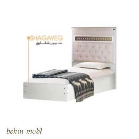 تخت خواب نوجوان مدل شقایق